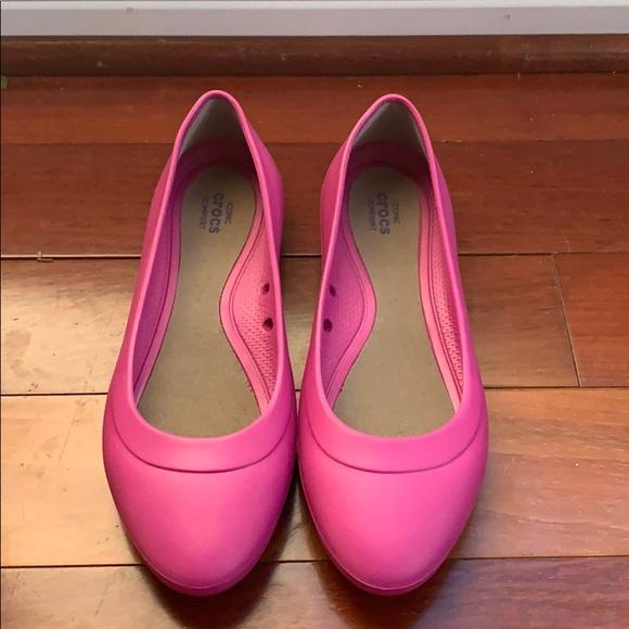 9ae962ede2 CROCS Shoes | Iconic Comfort Ballet Flats Nwot | Poshmark